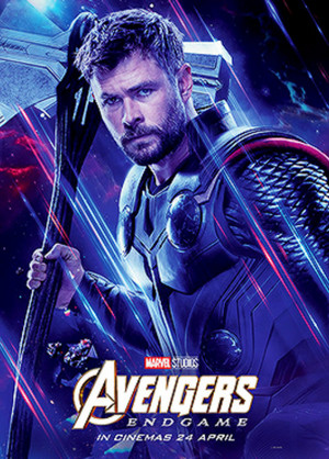 Thor Odinson ~Avengers: Endgame (2019) character posters