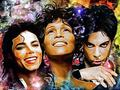 Three Music Legends - michael-jackson fan art