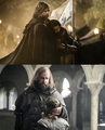 Touching  moment - game-of-thrones photo