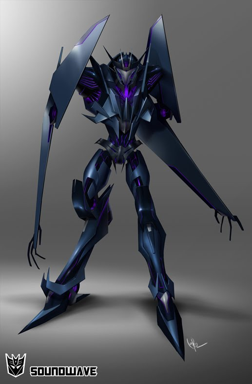 トランスフォーマー Prime Soundwave Concept Art