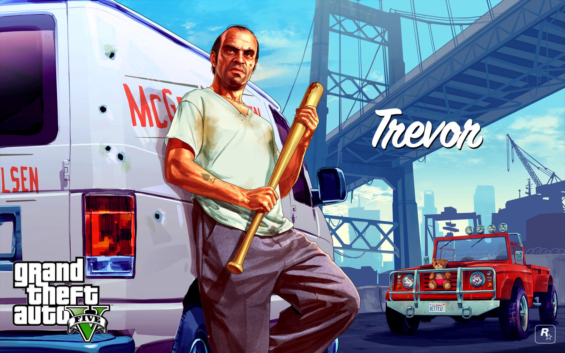 Trevor - Grand Theft Auto V Wallpaper (42770486) - Fanpop