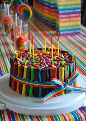 Twizzlers Cake