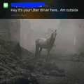 Uber driver - game-of-thrones photo