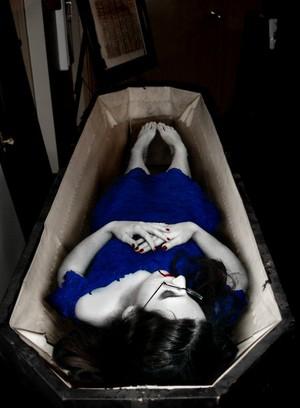 Vampire in Blue