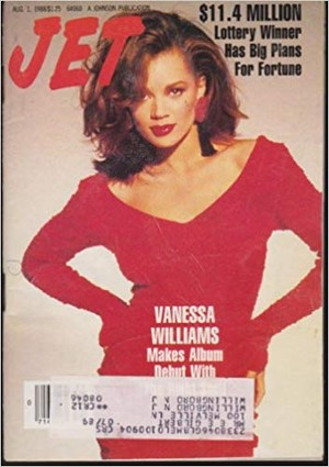Vanessa Williams On The Cover Of Jet