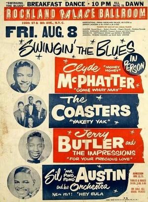 Vintage concert Tour Poster
