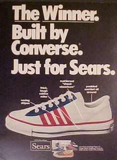 Vintage PromoAd For converse All Stars