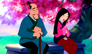 Walt Disney Screencaps – Fa Zhou & Fa Mulan