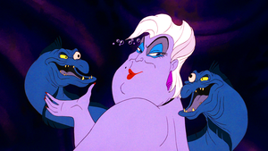 Walt Disney Screencaps – Flotsam, Ursula & Jetsam