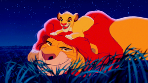 Walt Disney Screencaps – Mufasa & Simba