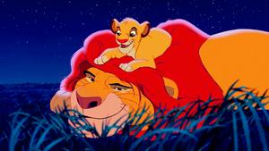 Walt डिज़्नी Screencaps – Mufasa & Simba