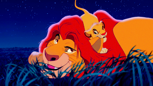 Walt Disney Screencaps – Mufasa & Simba