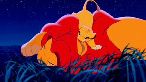 Walt डिज़्नी Screencaps – Mufasa & Simba