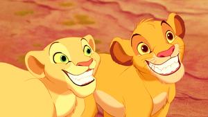 Walt Disney Screencaps - Nala & Simba