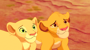 Walt Дисней Screencaps - Nala & Simba