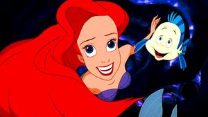 Walt Disney Screencaps – Princess Ariel & kweta