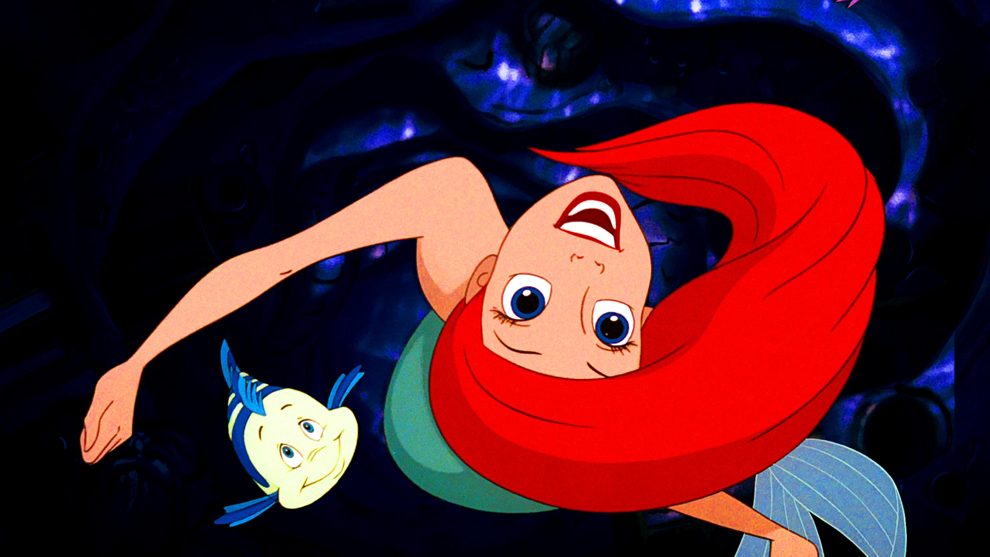 Walt Disney Screencaps – Princess Ariel & Flounder