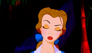 Walt डिज़्नी Screencaps - Princess Belle