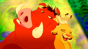 Walt disney Screencaps – Pumbaa, Timon & Simba