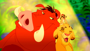 Walt Дисней Screencaps – Pumbaa, Timon & Simba