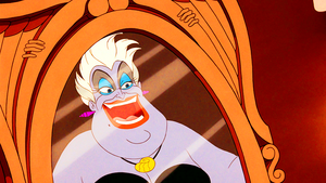 Walt ডিজনি Screencaps - Ursula & Vanessa