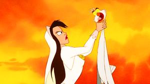 Walt डिज़्नी Screencaps - Vanessa & Scuttle