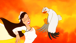 Walt Disney Screencaps - Vanessa & Scuttle