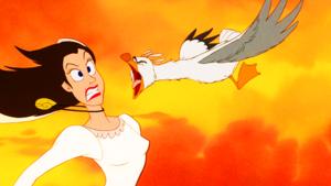 Walt ডিজনি Screencaps - Vanessa & Scuttle