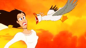 Walt Disney Screencaps - Vanessa & Scuttle