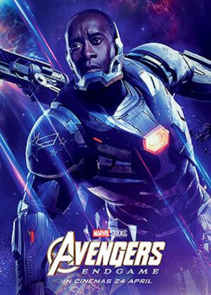 War Machine ~Avengers: Endgame (2019) character posters