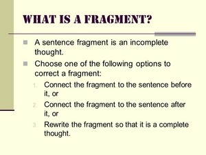 What Is A Fragment