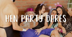 What is a Hen party dare?