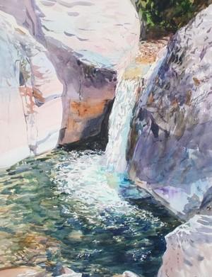 Whitewater Canyon Waterfall