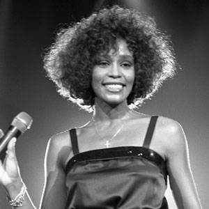 80's music wallpaper entitled Whitney Houston