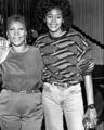 Whitney Houston And Aretha Franklin