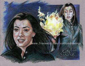 Willow Rosenberg Fanart - Dark Witch Willow