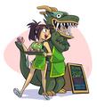 Working at the Jasmine Dragon - avatar-the-last-airbender fan art