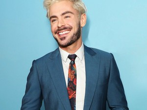 Zac blond hair