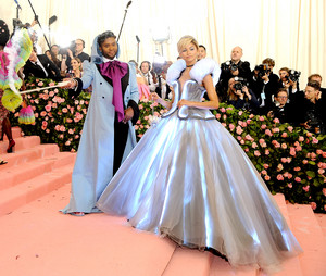 Zendaya dressed as Cinderella at the Met Gala 2019