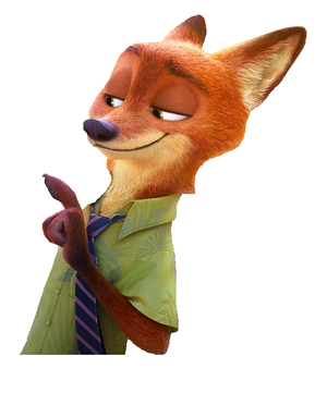 Zootopia Nick Transparent