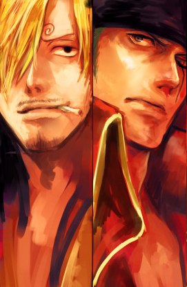 Zoro and Sanji Film Z