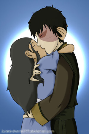Zuko and Katara's Long Awaited Ciuman