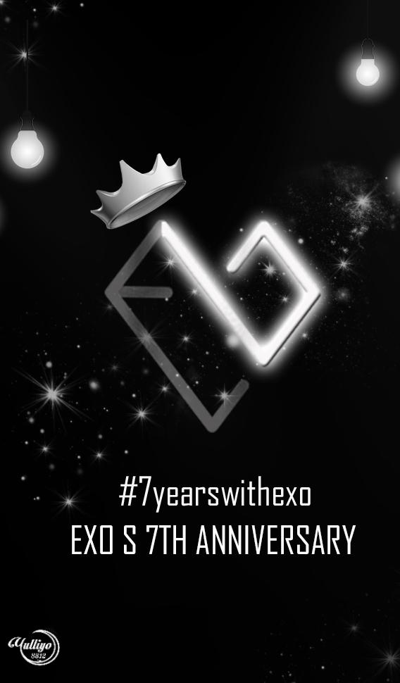 EXO - 7YEARSWITHEXO #LOCKSCREEN