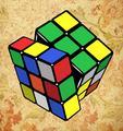 Rubik's Cube - the-80s fan art