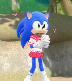 "k-knuckles-senpai!"" | Sonic Boom"