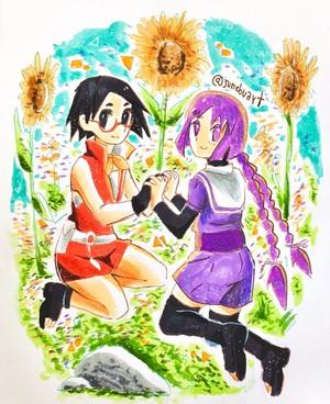 sumire and sarada
