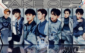 WAYV TAKE OFF #WALLPAPER