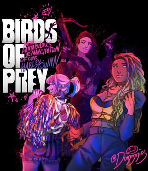 'Birds of Prey' shabiki art kwa Dominic Bustamante