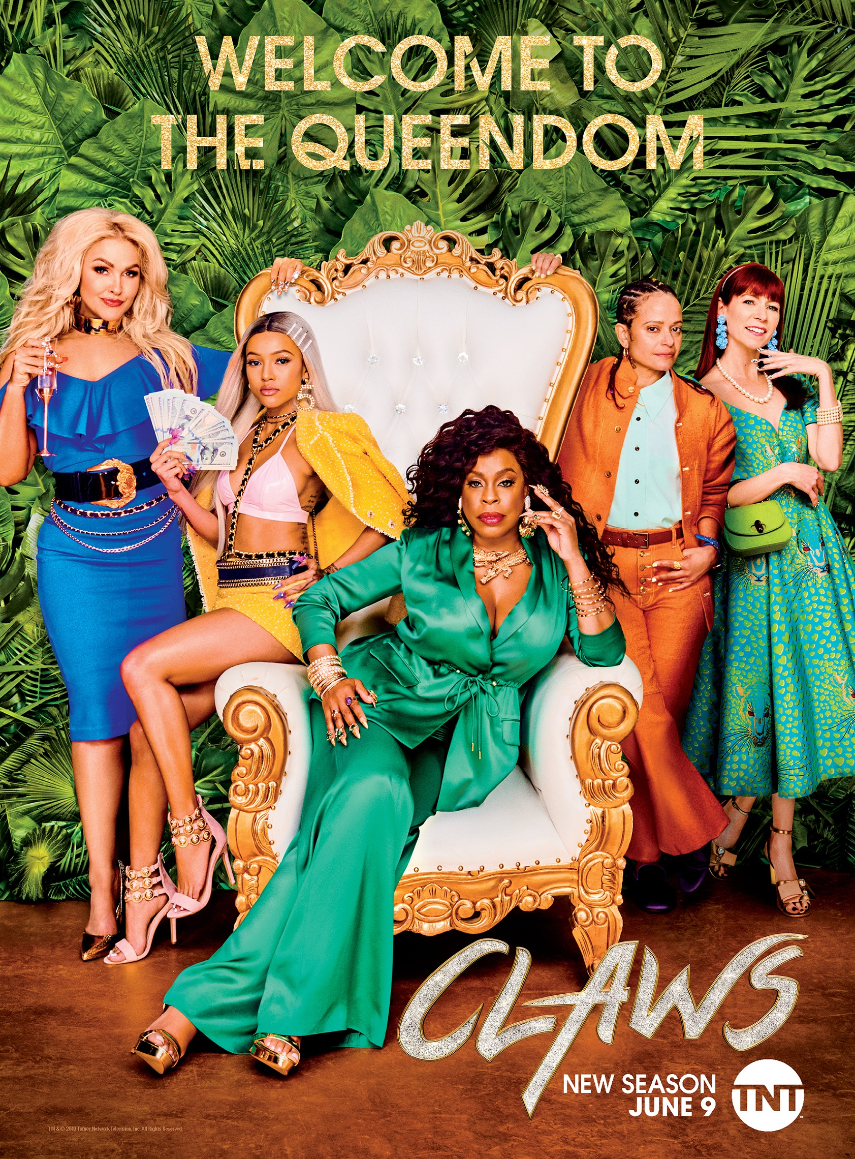 'Claws' Promotional Poster