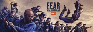 'Fear The Walking Dead' SDCC Promotional Banner